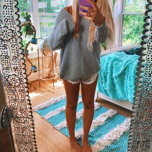 Sweaters - Criss Cross Back Chunky Estelle Knit 🌈